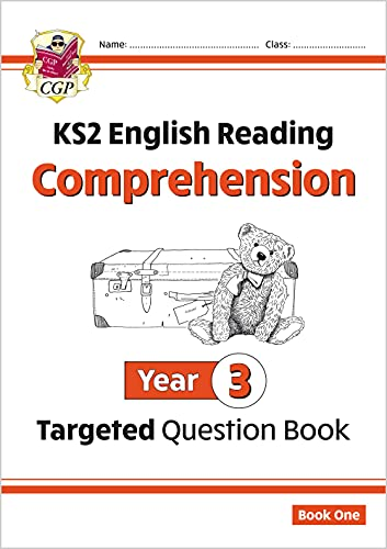 KS2 English Targeted Question Book: Year 3 Comprehension - Book 1 By CGP Books