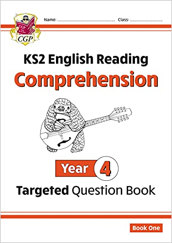 KS2 English Targeted Question Book: Year 4 Comprehension - Book 1 (CGP KS2 English) By CGP Books