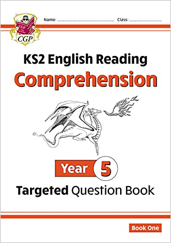 New KS2 English Targeted Question Book: Year 5 Comprehension - Book 1 (CGP KS2 English) By CGP Books