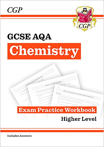 New Grade 9-1 GCSE Chemistry: AQA Exam Practice Workbook (with answers) (CGP GCSE Chemistry 9-1 Revision) By CGP Books
