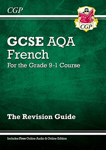 GCSE French AQA Revision Guide - for the Grade 9-1 Course (with Online Edition) By CGP Books
