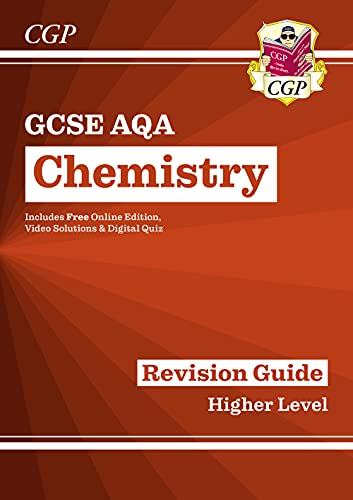 Grade 9-1 GCSE Chemistry: AQA Revision Guide with Online Edition - Higher By CGP Books