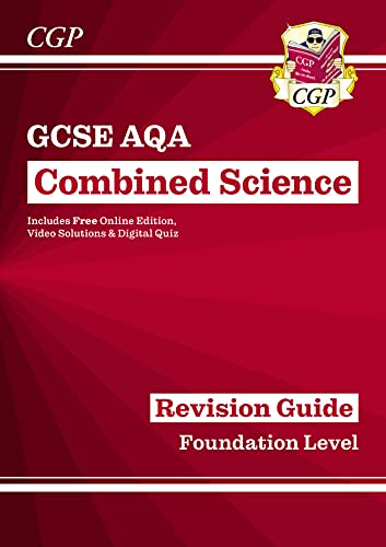 Grade 9-1 GCSE Combined Science: AQA Revision Guide with Online Edition - Foundation By CGP Books