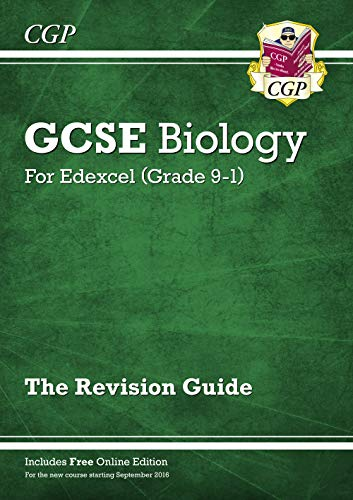 Grade 9-1 GCSE Biology: Edexcel Revision Guide with Online Edition By CGP Books