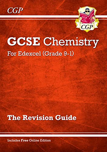 Grade 9-1 GCSE Chemistry: Edexcel Revision Guide with Online Edition By CGP Books