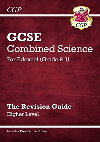 Grade 9-1 GCSE Combined Science: Edexcel Revision Guide with Online Edition - Higher By CGP Books