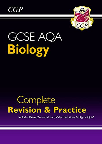 Grade 9-1 GCSE Biology AQA Complete Revision & Practice with Online Edition By CGP Books