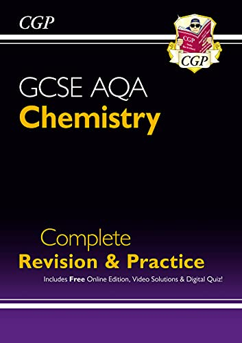 Grade 9-1 GCSE Chemistry AQA Complete Revision & Practice with Online Edition By CGP Books