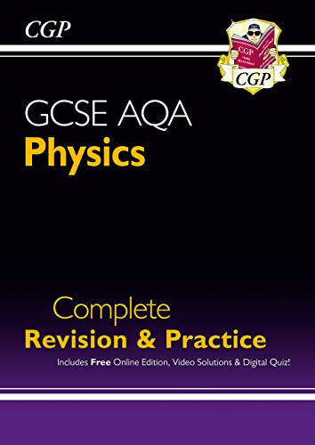Grade 9-1 GCSE Physics AQA Complete Revision & Practice with Online Edition By CGP Books