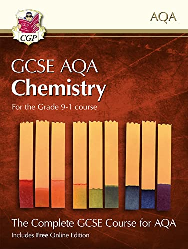 Grade 9-1 GCSE Chemistry for AQA: Student Book with Online Edition By CGP Books