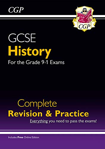 GCSE History Complete Revision & Practice - for the Grade 9-1 Course (with Online Edition) By CGP Books