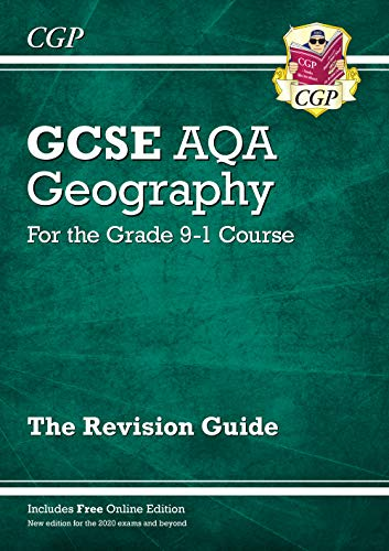 New Grade 9-1 GCSE Geography AQA Revision Guide (CGP GCSE Geography 9-1 Revision) By CGP Books