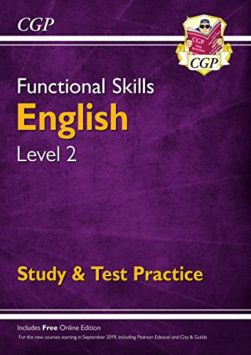 Functional Skills English Level 2 - Study & Test Practice (CGP Functional Skills) By CGP Books