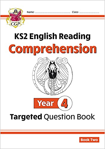 KS2 English Targeted Question Book: Year 4 Comprehension - Book 2 By CGP Books