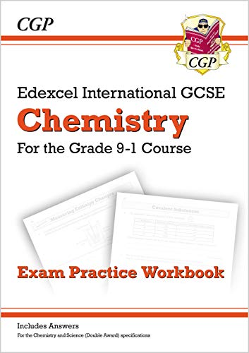 Grade 9-1 Edexcel International GCSE Chemistry: Exam Practice Workbook (includes Answers) By CGP Books