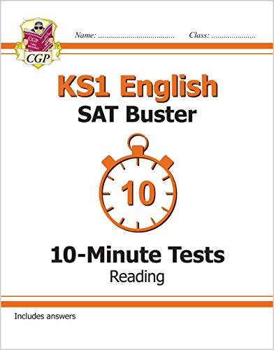 New KS1 English SAT Buster 10-Minute Tests: Reading (for tests in 2018 and beyond) by