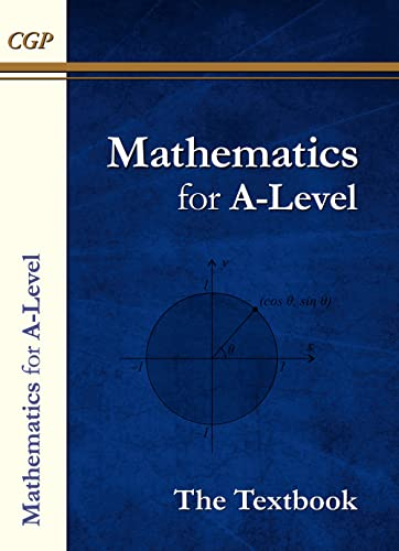 New AS and A-Level Maths Textbook: Year 1 & 2 By CGP Books