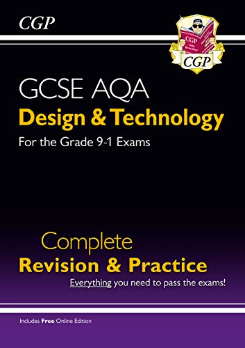 New Grade 9-1 Design & Technology AQA Complete Revision & Practice (with Online Edition) By CGP Books