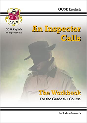 Grade 9-1 GCSE English - An Inspector Calls Workbook (includes Answers) By CGP Books