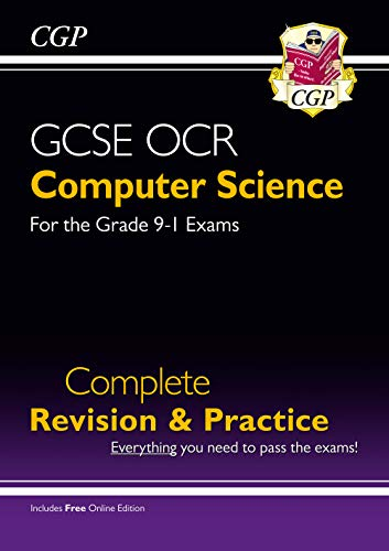 New GCSE Computer Science OCR Complete Revision & Practice - Grade 9-1 (with Online Edition) By CGP Books