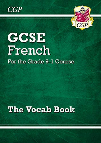 GCSE French Vocab Book - for the Grade 9-1 Course By CPG Books