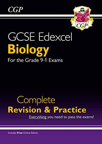 Grade 9-1 GCSE Biology Edexcel Complete Revision & Practice with Online Edition By CGP Books