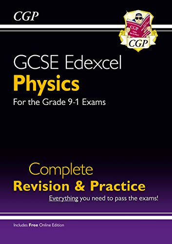 Grade 9-1 GCSE Physics Edexcel Complete Revision & Practice with Online Edition By CGP Books