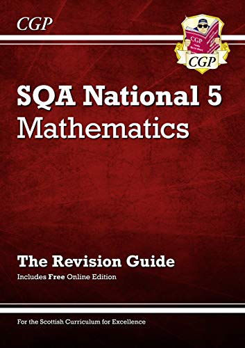National 5 Maths: SQA Revision Guide with Online Edition By Parsons, Richard