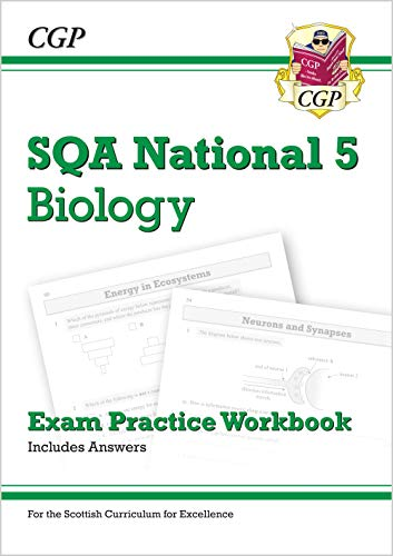 National 5 Biology: SQA Exam Practice Workbook - includes Answers By CGP Books
