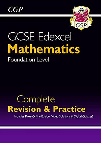 New 2021 GCSE Maths Edexcel Complete Revision & Practice: Foundation inc Online Ed, Videos & Quizzes By CGP Books
