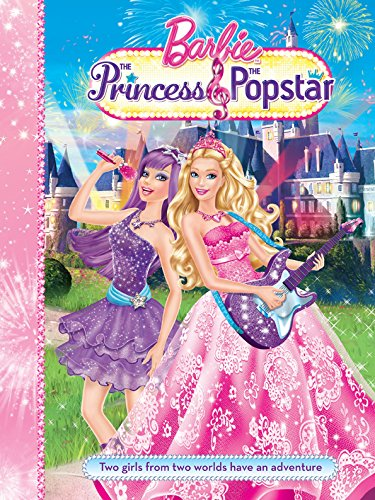 Barbie and the Princess and the Popstar Story Book By Mattel Inc.