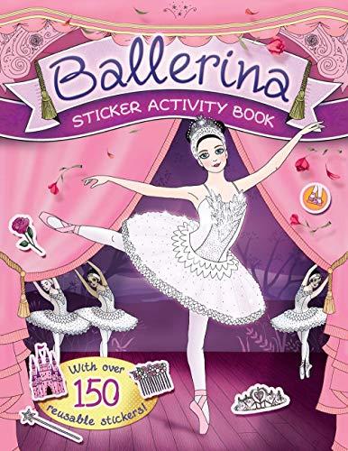Ballerina Sticker Activity Book By Caroline Rowlands