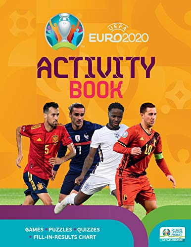 UEFA EURO 2020 Activity Book By Emily Stead