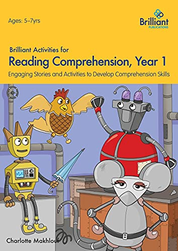 Brilliant Activities for Reading Comprehension, Year 1 (2nd Ed) von Charlotte Makhlouf