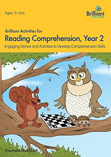 Brilliant Activities for Reading Comprehension, Year 2 (2nd Ed) von Charlotte Makhlouf