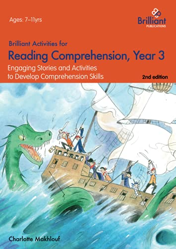 Brilliant Activities for Reading Comprehension, Year 3 (2nd Ed) von Charlotte Makhlouf