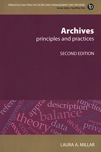 Archives, Second Revised Edition By Laura Agnes Millar