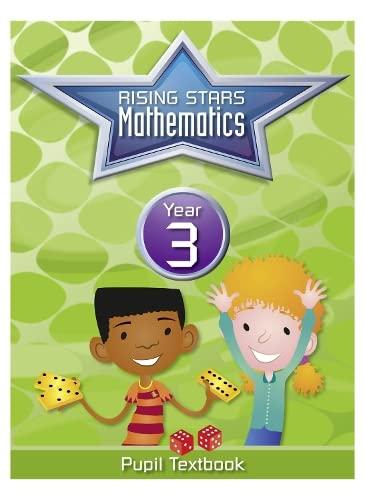 Rising Stars Mathematics Year 3 Textbook By Caroline Clissold
