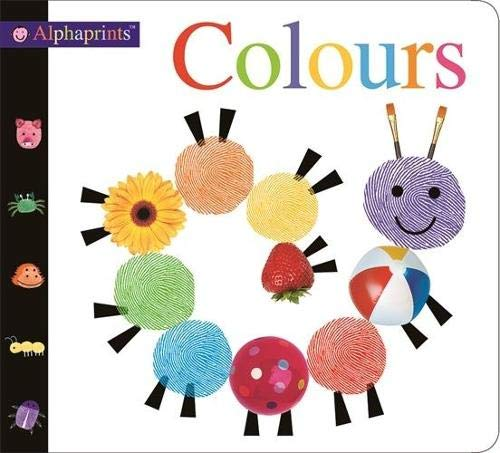 Alphaprint Colours Flashcard Book By Roger Priddy