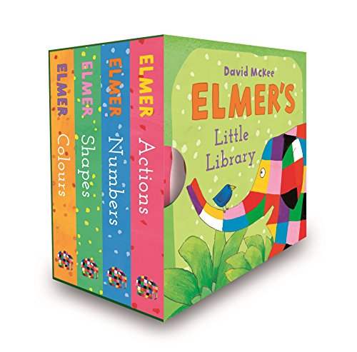 Elmer's Little Library By David McKee