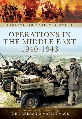 Opertations in North Africa and The Middle East 1939 - 1942 By John Grehan