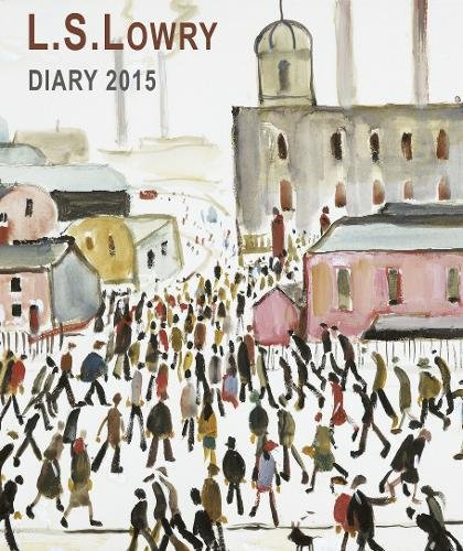 L.S. Lowry illustrated desk diary 2015 By Flame Tree Publishing