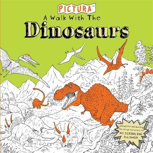 Pictura Puzzles: A Walk with the Dinosaurs By Adam Stower