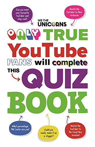 We The Unicorns: Only True YouTube Fans Will Complete This Quiz Book By We The Unicorns