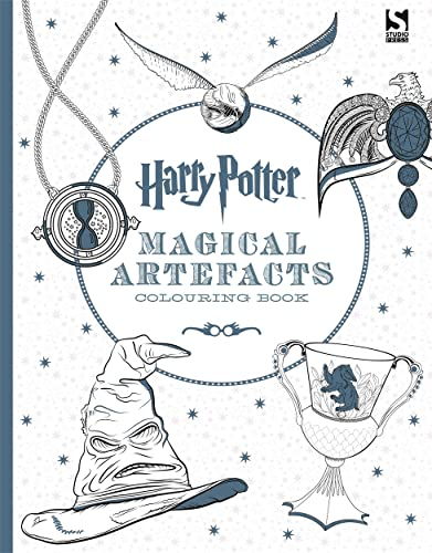 Harry Potter Magical Artefacts Colouring Book 4 By Warner Brothers