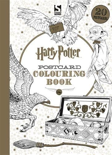 Harry Potter Postcard Colouring Book von Warner Brothers
