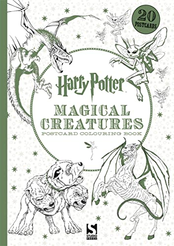 Harry Potter Magical Creatures Postcard Colouring Book By Warner Bros