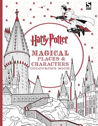 Harry Potter Magical Places and Characters Colouring Book by