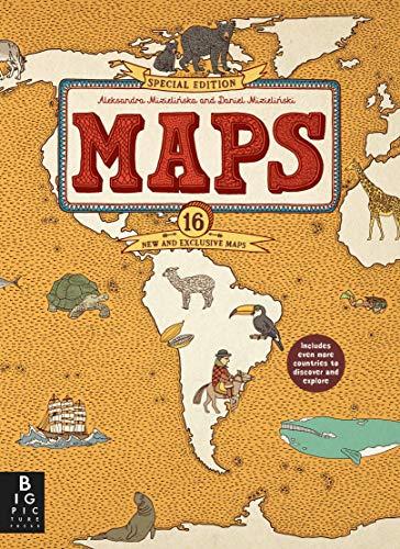Maps Special Edition By Mizielinskas Mizielinski