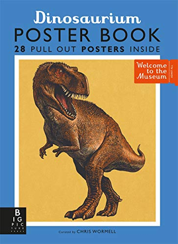 Dinosaurium Poster Book By Illustrated by Chris Wormell